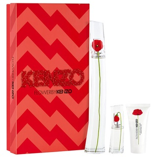 Gift Set nước hoa nữ Kenzo Flower by Kenzo Eau de Pafum 3pcs ( EDP 100ml & EDP 15ml & Lotion Dưỡng Da 50ml ) thumbnail