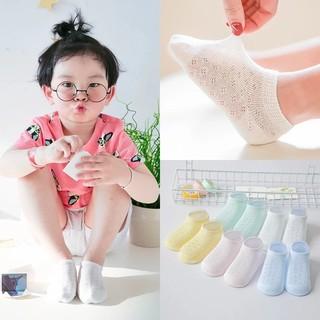 TẤT CHO BÉ Set 5 đôi tất lưới màu cho bé trai bé gái thumbnail