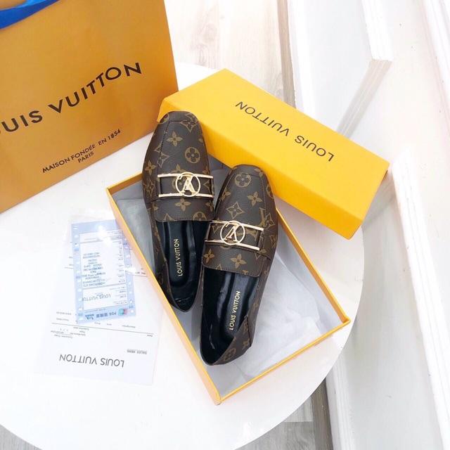 Giày moca chất da mềm, hàng Super fullbox + bill + túi giấy
