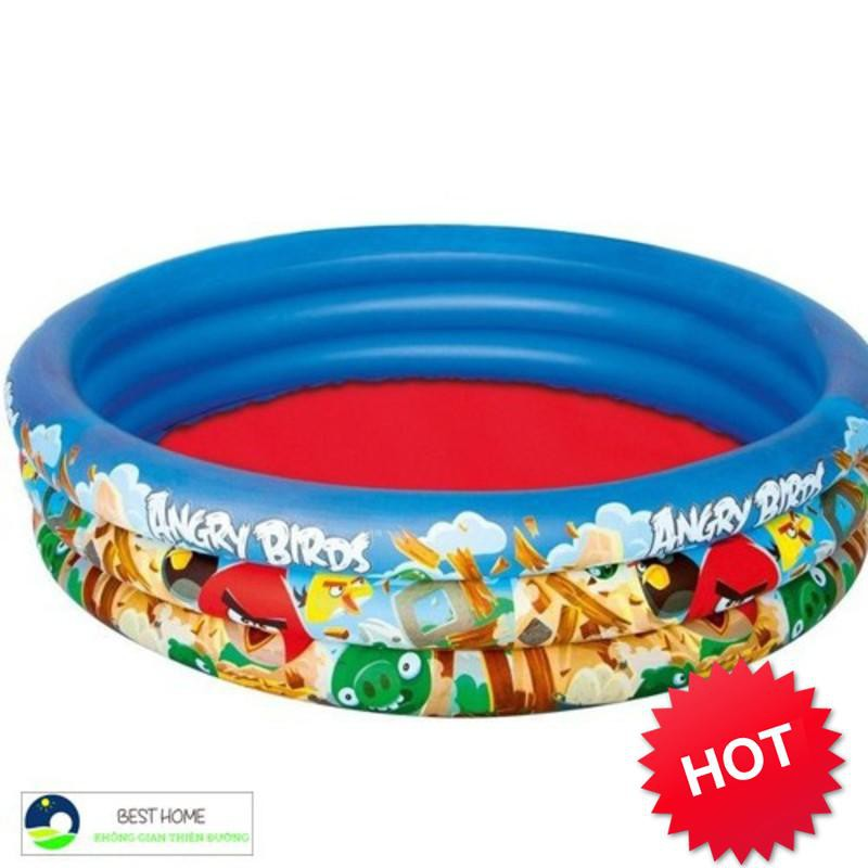 (ẢNH TỰ CHỤP)  Bể bơi phao cho bé betway 3 chi tiết