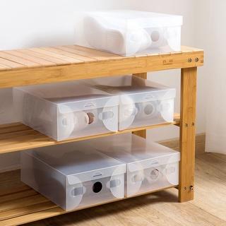 Set 10 hộp nhựa trong suốt đựng giày tiện dụng - hình 2