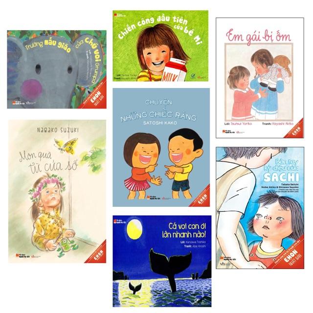 Sách - combo Ehon Nhật bản cho bé 3-8 tuổi