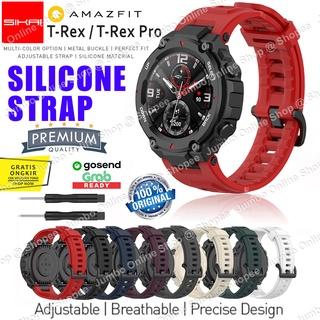 Dây đeo silicon cho đồng hồ thông minh Amazfit T-REX T-REX PRO TREX TREX PRO thumbnail