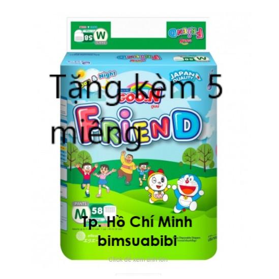 Tã quần Goo.n Renew Friend Jumbo (M, 7 - 12Kg, 58 miếng)