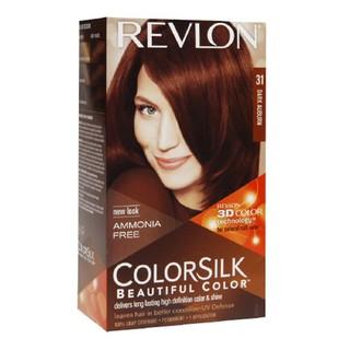 Thuốc nhuộm tóc Revlon Dark Auburn 31 cho tóc màu nâu sẫm - Mỹ - 130ml