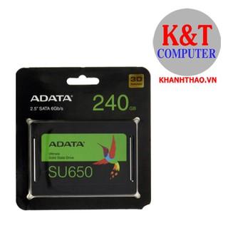 [Mã ELMSBC giảm 8% đơn 300k] Ổ Cứng SSD 240G Adata SU650 (ASU650) -