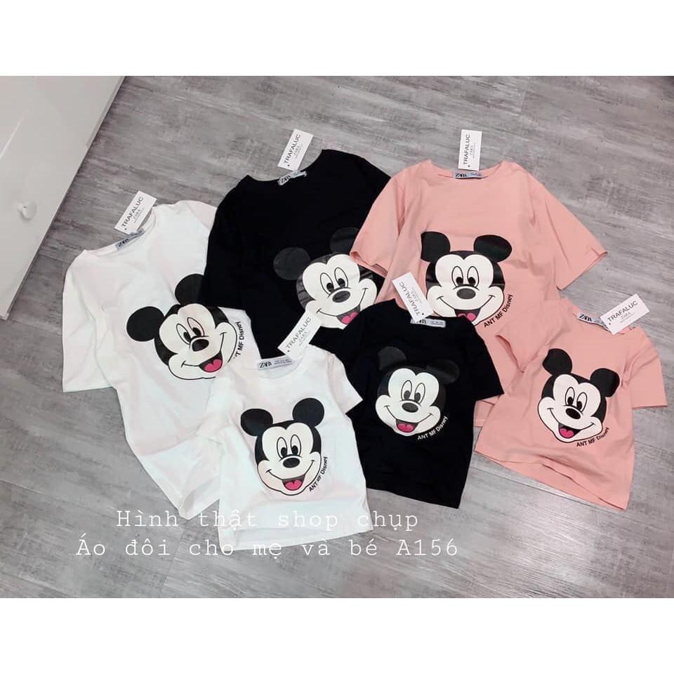 bán buôn -áo phông micky cho nữ và em bé