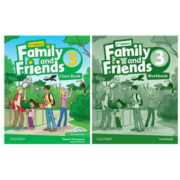 Sách - Trọn bộ Family and Friends 3 second edition