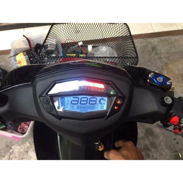 Đồng hồ xe Z1000 ( chế gắn các loại xe )