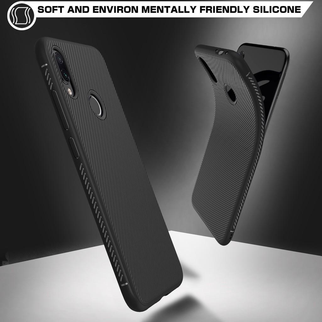 Ốp lưng TPU màu trơn dành cho điện thoại Xiaomi Redmi Note 7S/ Note 7 / Note 7 Pro