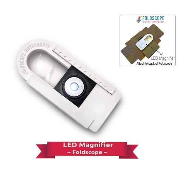 [Whole sales] BỘ ĐÈN LED FOLDSCOPE cho kính hiển vi giấy - LED MAGNIFIER KIT