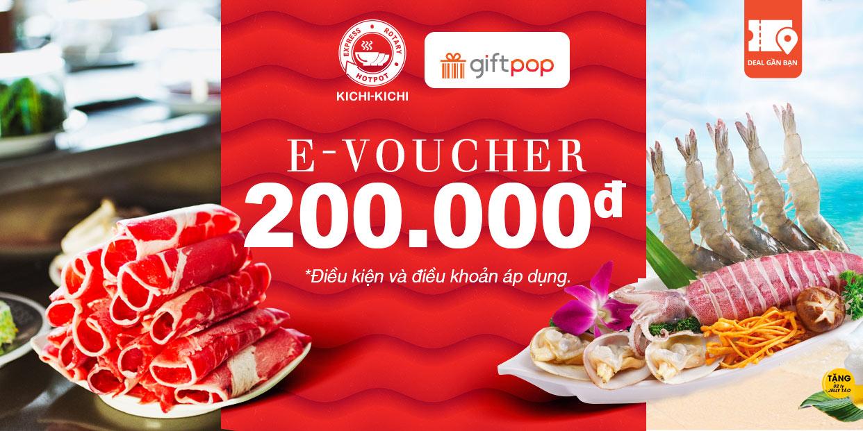 E-Voucher KICHI KICHI 200.000