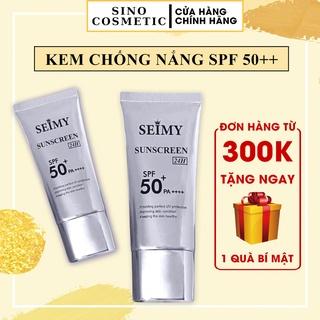 Kem chống nắng dưỡng trắng dưỡng da Seimy - Sunscreen 24h - nâng tông da, mềm mịn, kiềm dầu, giảm mụn thumbnail