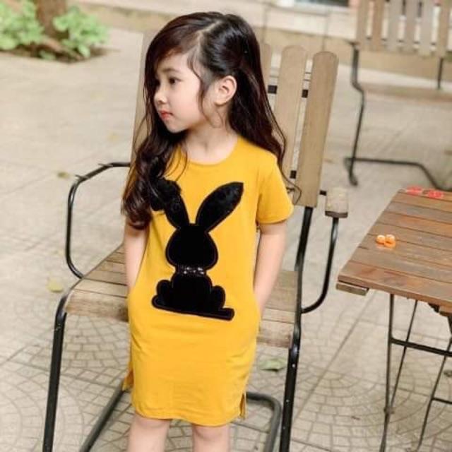 Váy thỏ cho bé gái cực