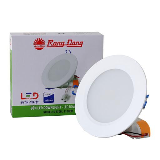 Đèn Led Âm Trần Downlight Rạng Đông D AT06L 110/7W - Trắng LED SS