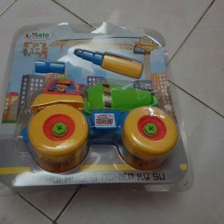 Đồ chơi hướng nghiệp kỹ sư cho bé ( hàng khuyến mại)