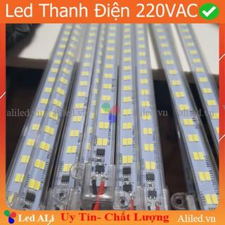Thanh Led Điện 220V AC Led thanh điện 220v trang trí