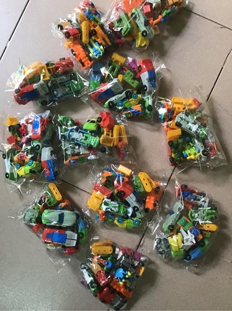 Combo 10 xe lắp ráp robot