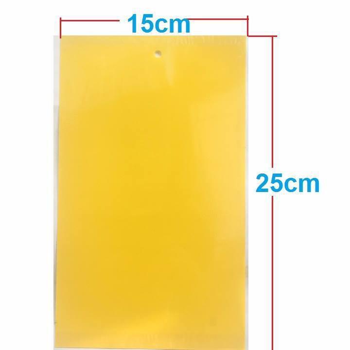 Miếng bẫy dính ruồi vàng 15x25cm
