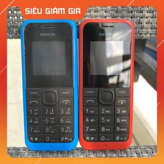Điện Thoại Nokia 105 Bản 2 Sim Zin Chính Hãng Kèm Pin Sạc – BH 12 Tháng
