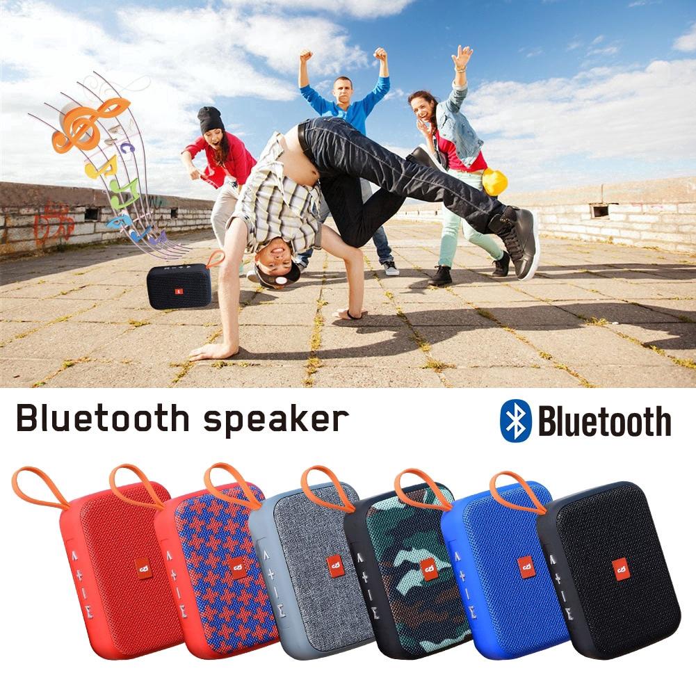Loa Bluetooth TG506 Thẻ Di động U Đĩa Quà Tặng Không Dây Di động Loa Mini