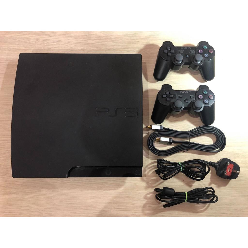 Máy chơi Game PS3 (Playstation 3) Slim 160 GB slim CECH-30xxA Hack HEN  (Down game trực tiếp từ store, chơi game ổ cứng)