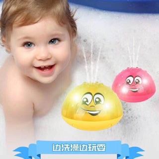 SIÊU SỈ Đồ chơi SPACE UFO 2 in 1 cho bé siêu yêu phun nước tắm cùng bé và có đế chạy có đèn HÀNG MỚI VỀ