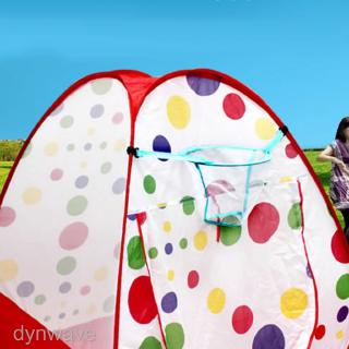 Children Playground Pop Up Tent Ball Pit Accs Ball Shooting Basket Net Toy