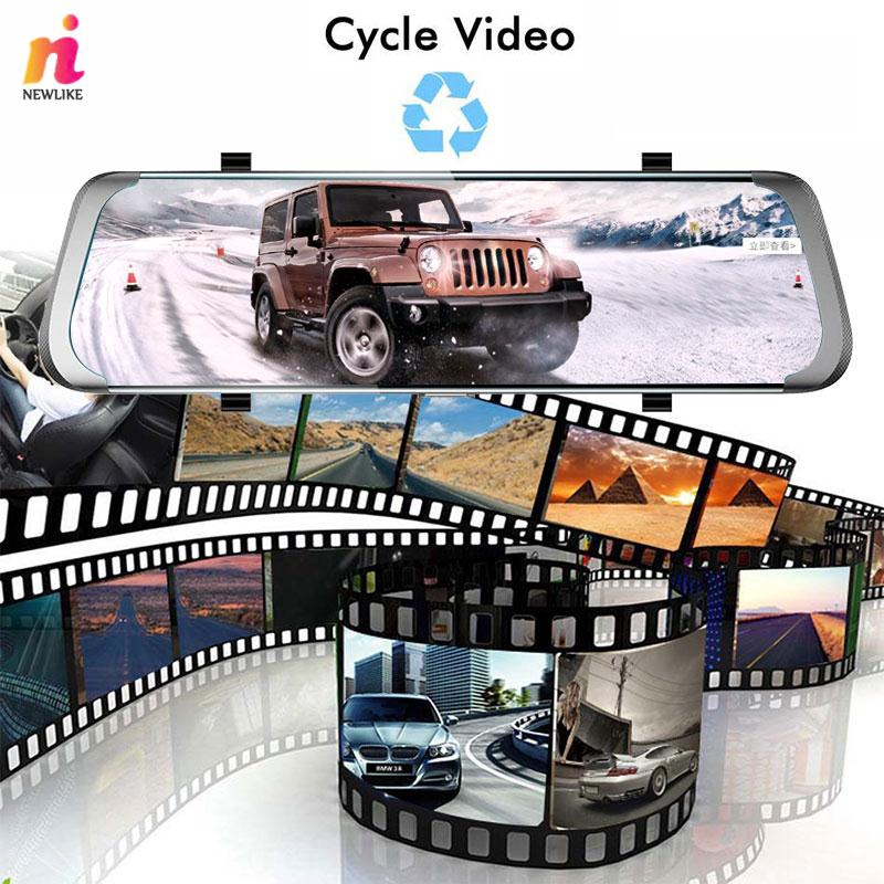NL Car Video Recorder Dash Camera Stream Media Night Vision Portable G-Sensor Wifi 4G Driving Recorder Camera