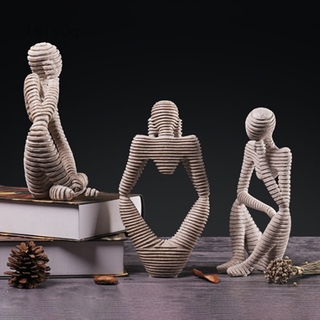 European-style character creative sculpture thinker ornaments