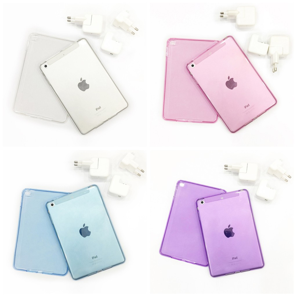 Ốp Silicon và bao da cho iPad