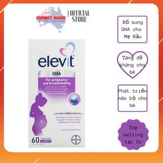 [Hàng Chuẩn ÚC] Elevit DHA For Pregnancy and Breastfeeding - Viên uống bổ sung DHA cho mẹ bầu 60 viên thumbnail