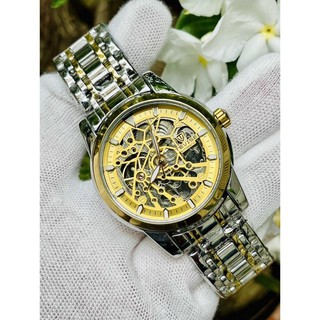 (Siêu Sale) Đồng hồ nam cơ tevise chính hãng t9005e cao cấp đủ màu dây thép đúc đủ màu (tặng kèm hộp)
