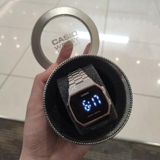 [Tặng box thiếc] Đồng hồ nam nữ điện tử Casio A168 màn hình full led cảm ứng , thời trang , sang trọng , đẳng cấp