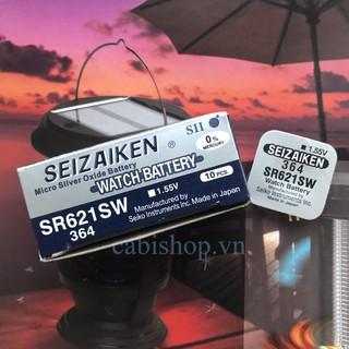 Pin Seizaiken SR621SW - SR621 - 621 - 364 - AG1 - LR621 Của Hãng Seiko - Pin Đồng Hồ Đeo Tay Chính Hãng thumbnail