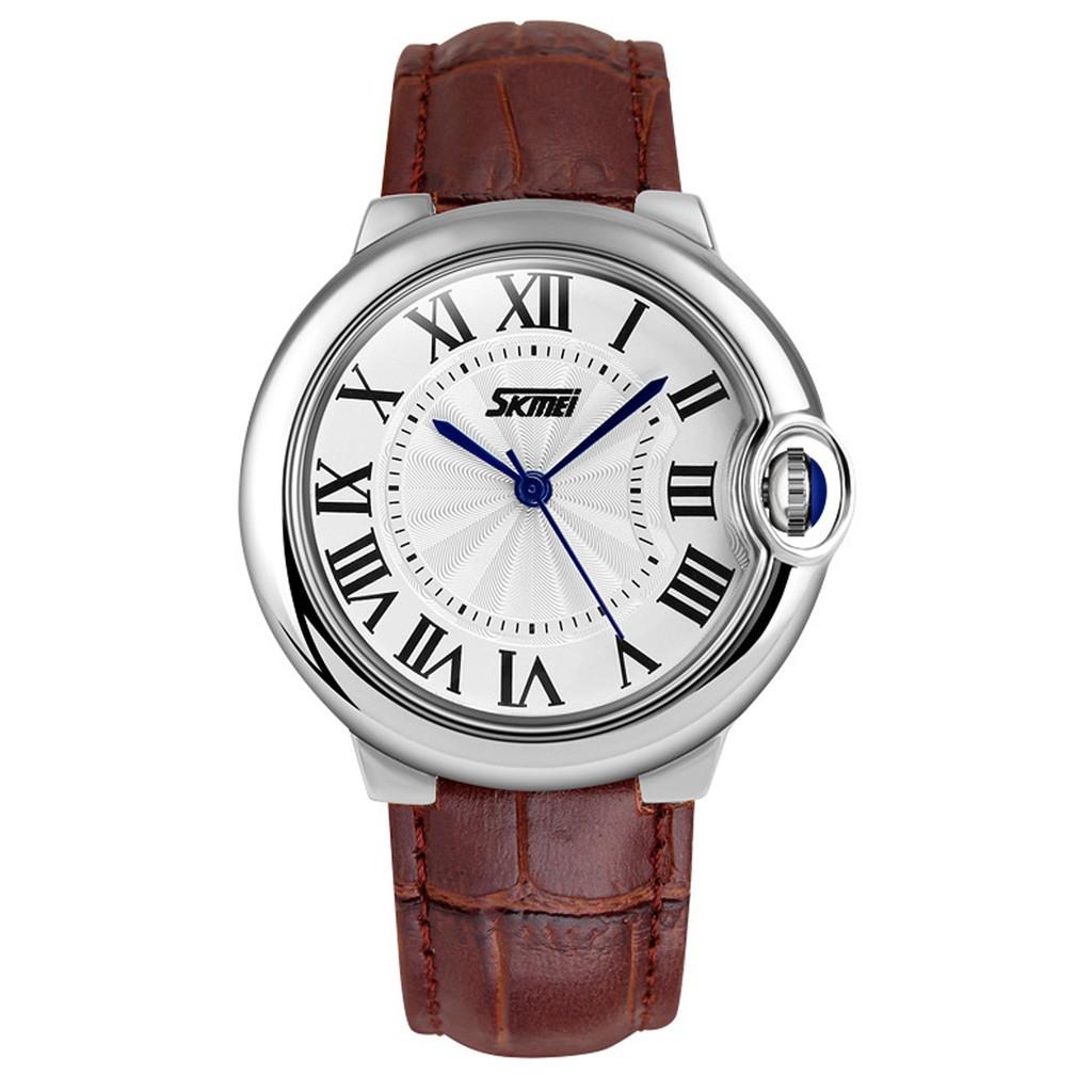 Đồng hồ nữ Skmei TI10 kiểu dáng hiện đại dây da cao cấp