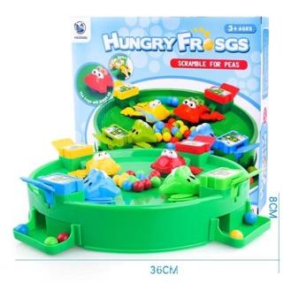 Bộ đồ chơi ếch ăn đậu kèm 24 bi siêu hót Hungry Frogs _ Giá Bán Sỉ Lẻ