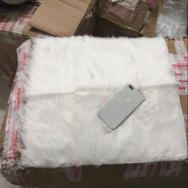 Thảm lông dùng để chụp sản phẩm ( hàng QC)