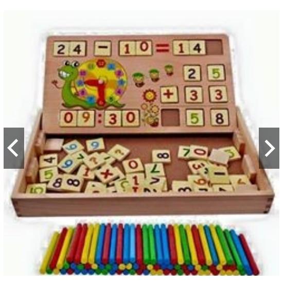 Bảng gỗ toán học thông minh cho bé