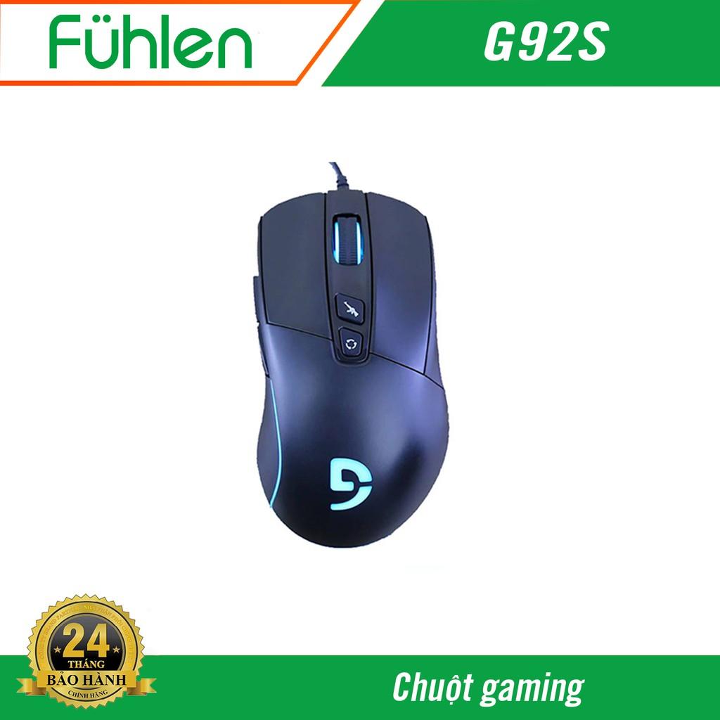 [Mã 267ELSALE hoàn 7% đơn 300K] Chuột Vi Tính Fuhlen G92S - Hàng chính hãng bảo hành 2 năm
