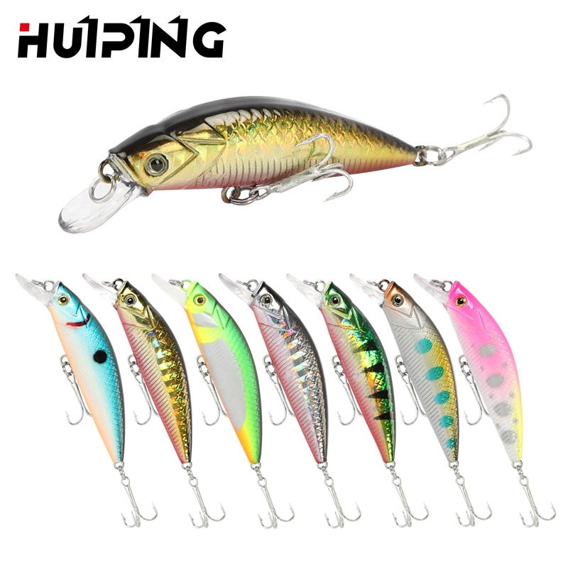 Minnow Suspending Fishing Lures Artificial Hard Baits Fishing Tackle for Professional Fishing Lure Lifelike Baits