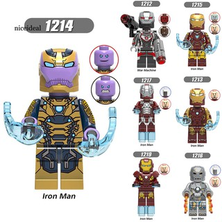 ✲Nd Marvel Avengers Iron Man War Machine Doll Funko DIY Assembly Kids Toy Gifts