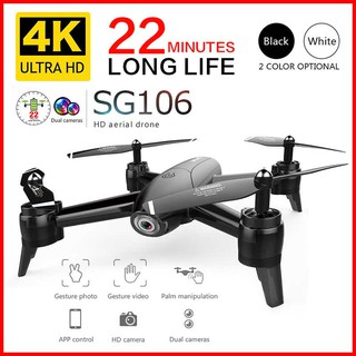 Flycam Drone SG106 Camera kép full HD 1080p