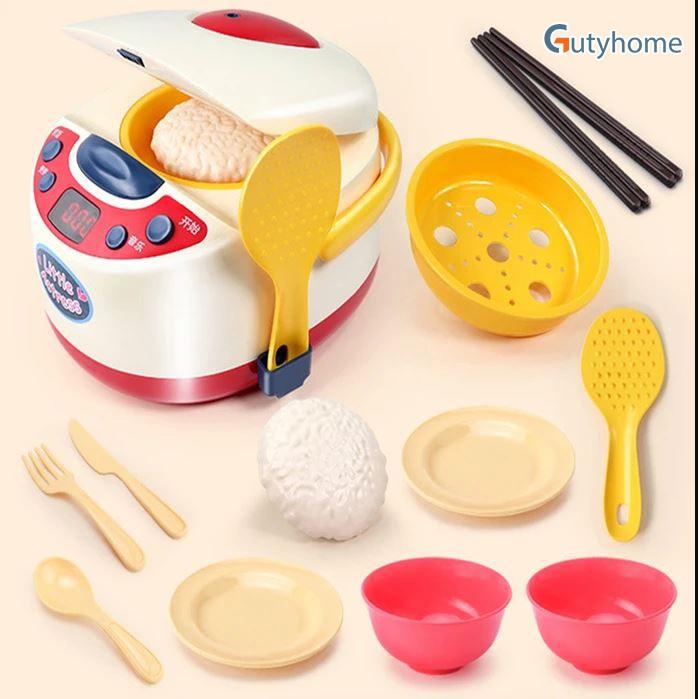Đồ chơi nồi cơm điện, đồ chơi nấu nướng cho bé, Giúp bé trải nghiệm quá trình nấu cơm ngay từ nhỏ ( Giao mẫu ngẫu nhiên)