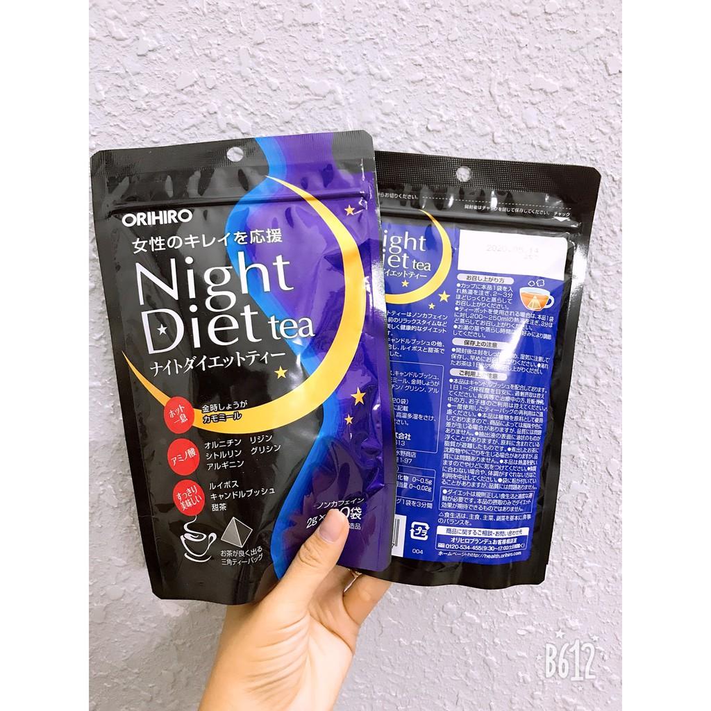Trà giảm cân night diet tea Orihiro Nhật Bản - 3010534 , 423948854 , 322_423948854 , 240000 , Tra-giam-can-night-diet-tea-Orihiro-Nhat-Ban-322_423948854 , shopee.vn , Trà giảm cân night diet tea Orihiro Nhật Bản