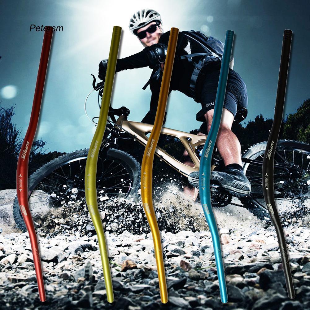 PTSM_780x31.8mm Lightweight Aluminum Alloy MTB Mountain Bike Riser Bicycle Handlebar