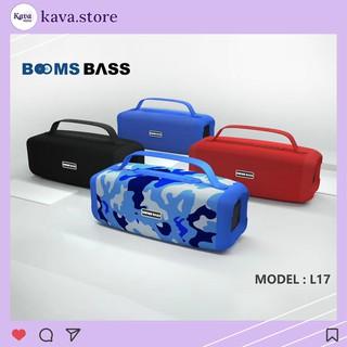 Loa Bluetooth Bombass L17 Kava Store - Âm thanh Bass siêu ấm - Hỗ trợ thẻ nhớ, FM, Audio 3.5mm