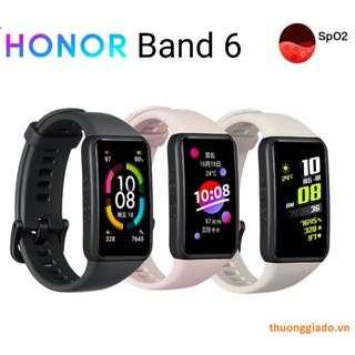 Vòng đeo tay thông minh Honor Band 6 (đo nhịp tim,oxy trong máu,đếm bước đi)