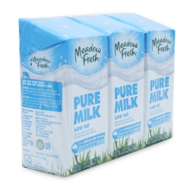 Sữa tươi tiệt trùng ít béo Meadow Fresh 3 hộp*200ml - 2538723 , 847798293 , 322_847798293 , 45000 , Sua-tuoi-tiet-trung-it-beo-Meadow-Fresh-3-hop200ml-322_847798293 , shopee.vn , Sữa tươi tiệt trùng ít béo Meadow Fresh 3 hộp*200ml