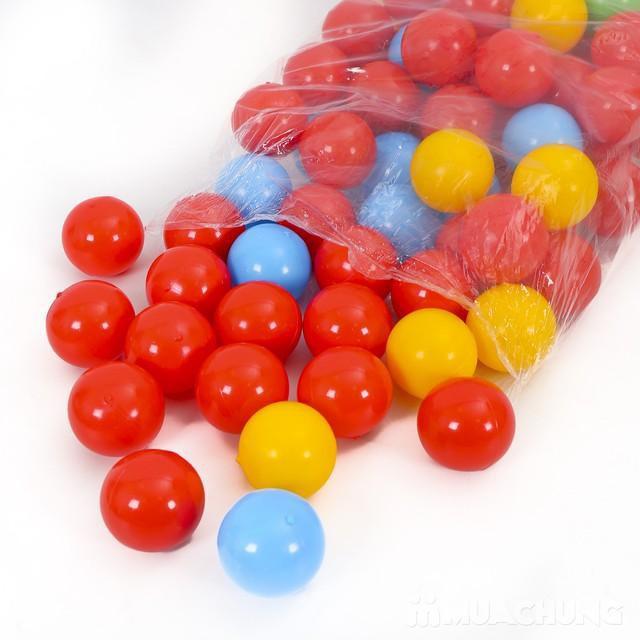 Túi 100 bóng nhựa mềm cho bé